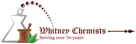 Whitney Chemists - logo